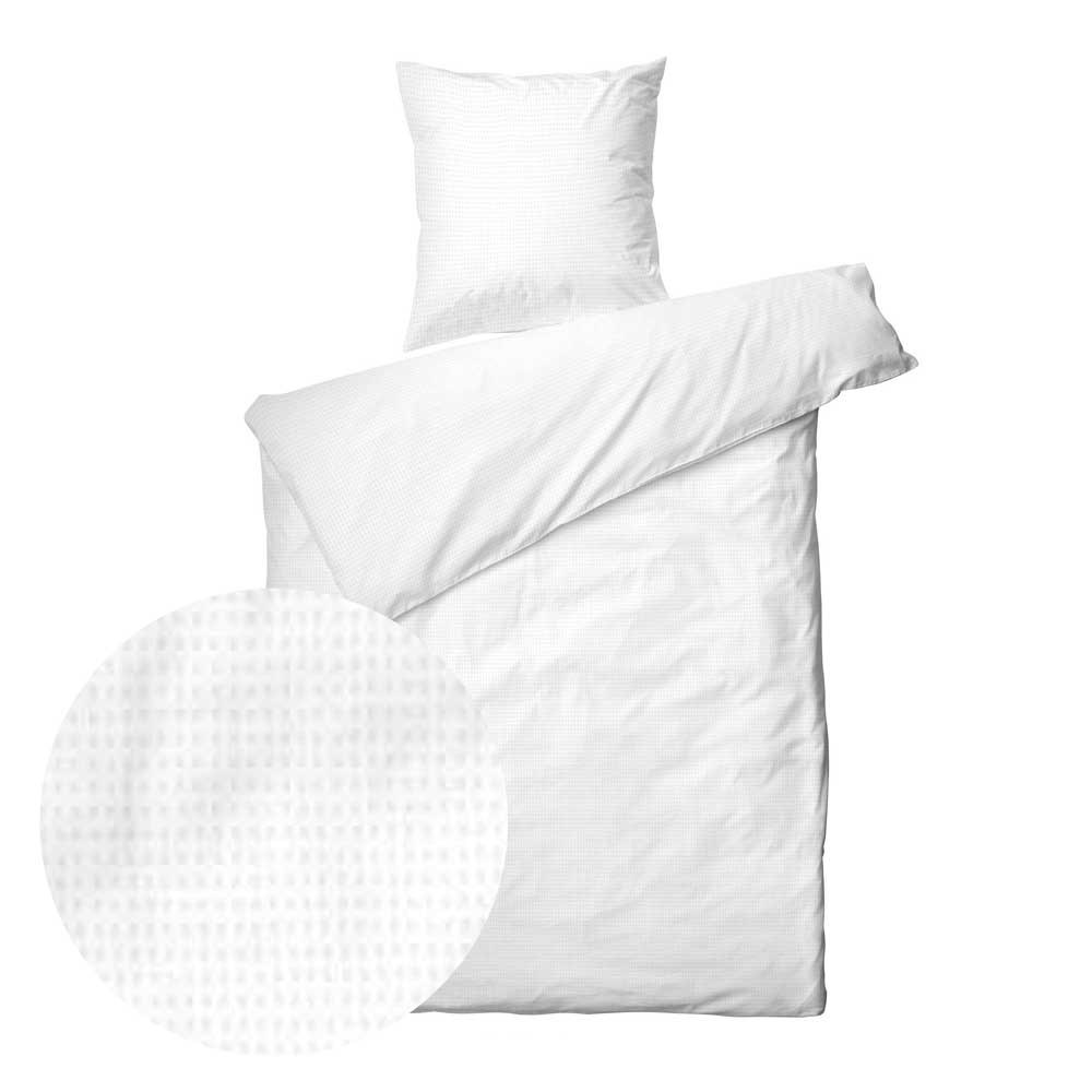 656ab57b7cc Sengetøj - Blocks White - 140x200 - Køb kvalitets sengetøj Online