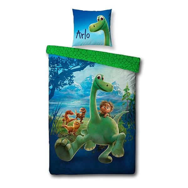 df4bdb7c573 Billig Sengetøj - Den Gode Dinosaur 140x200 - Køb Online