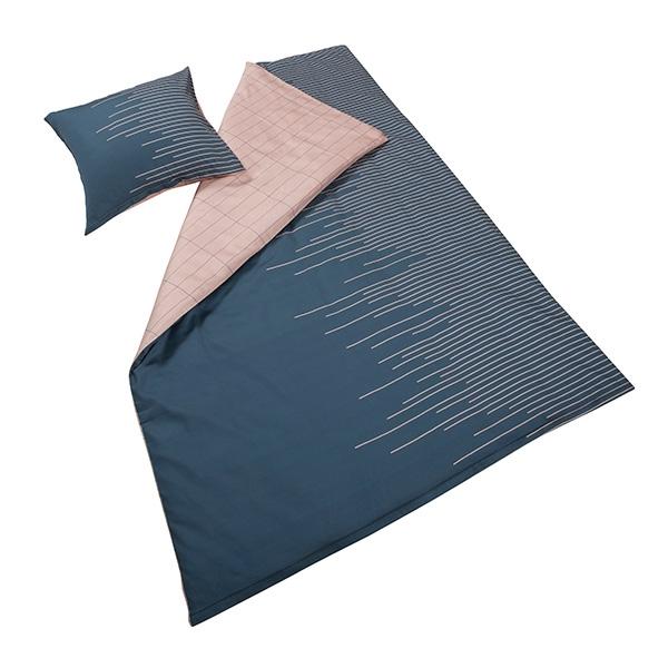 bomuldssatin sengetøj Mette Ditmer Sound   Bomuldssatin Sengetøj   140x200 cm bomuldssatin sengetøj