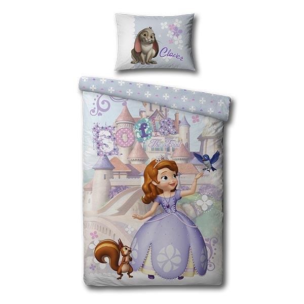 børne sengetøj Junior sengetøj   Prinsesse   100x140 cm   Køb på tilbud børne sengetøj