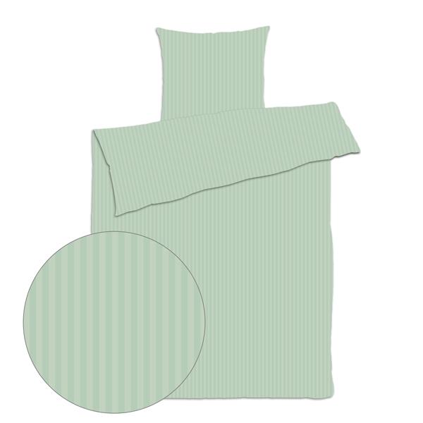 Smart Grønt sengetøj til dobbeltdyne 200x220 - Køb Online BH81